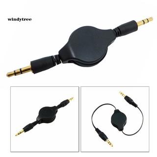 Cáp âm thanh chuyển đổi giắc cắm 3.5mm sang Aux cho loa điện thoại xe hơi