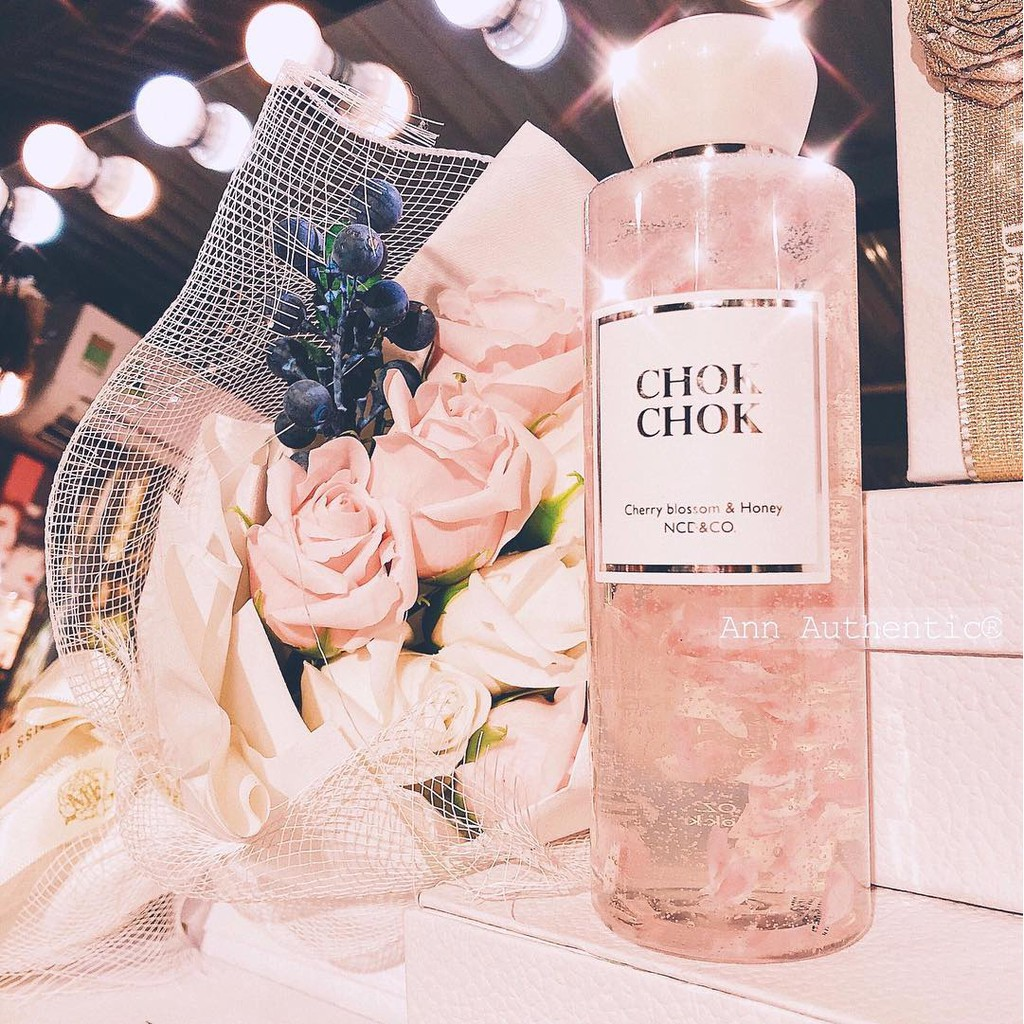 Sữa Tắm CHOK CHOK Cherry Blossom & Honey 250ml