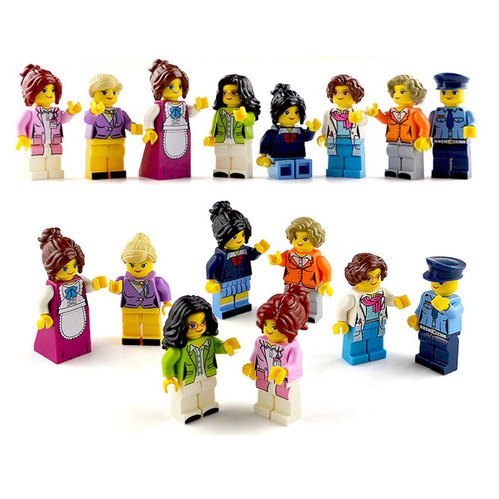 Bộ 8 Mô Hình Mini Lego