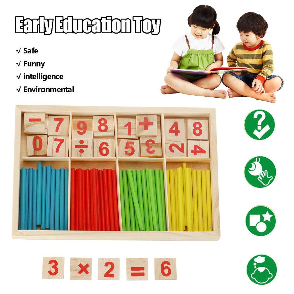 READY STOCK Early Learning Mathematical Intelligence Stick