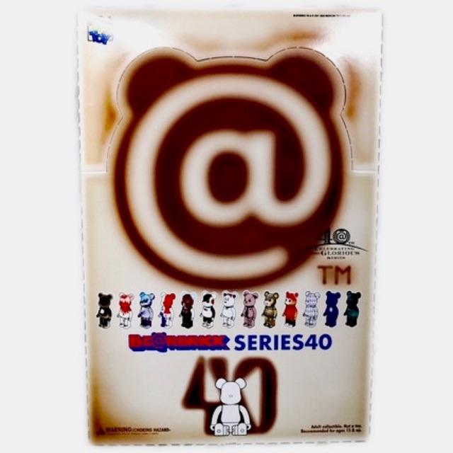 Bearbrick series 40 (full pack 24) – Hàng chính hãng Medicom Toy Nhật Bản