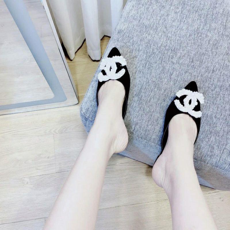 giày sục nữ đính ngọc