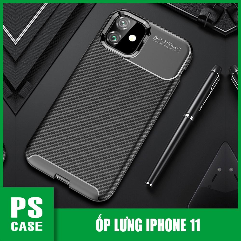 Ốp lưng chống sốc cao cấp dành cho iPhone 11 - Màu đen - PS Case Phân Phối