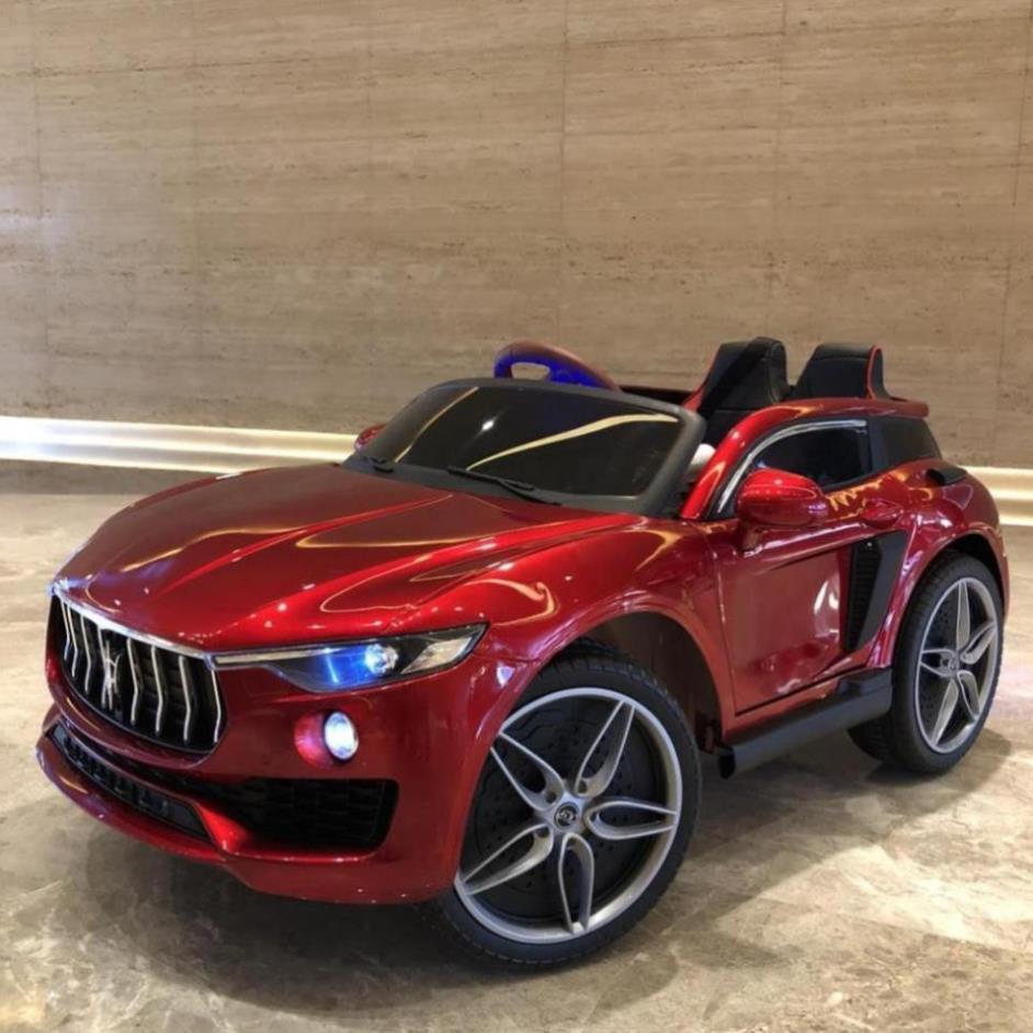 HOT [Siêu] [HOT] Ô tô xe điện đồ chơi vận động cho bé KUPAI 2021 4 động cơ