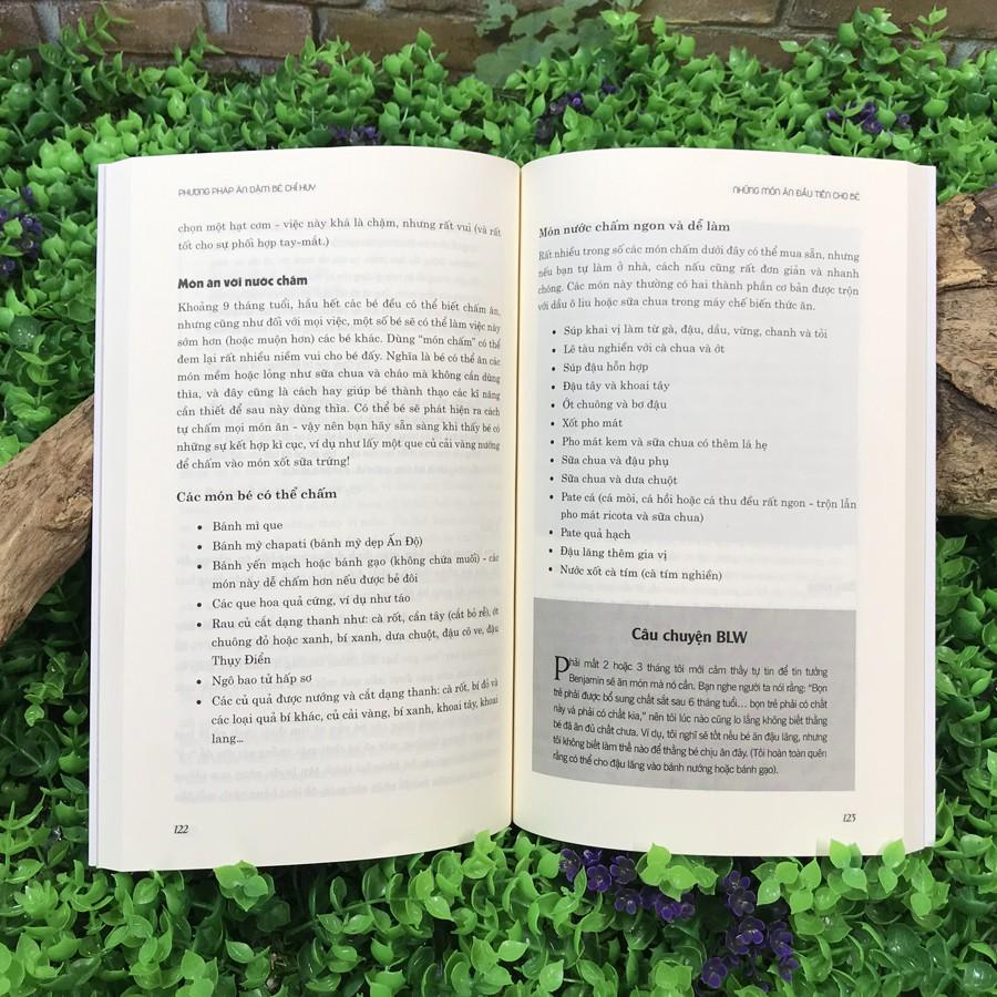 Sách - Ăn Dặm Không Phải Là Cuộc Chiến + Phương pháp ăn dặm bé chỉ huy (Combo 2 cuốn)
