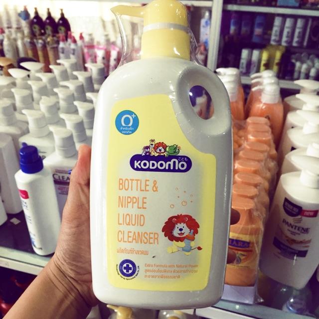 Nước rửa bình sữa kodomo thái lan