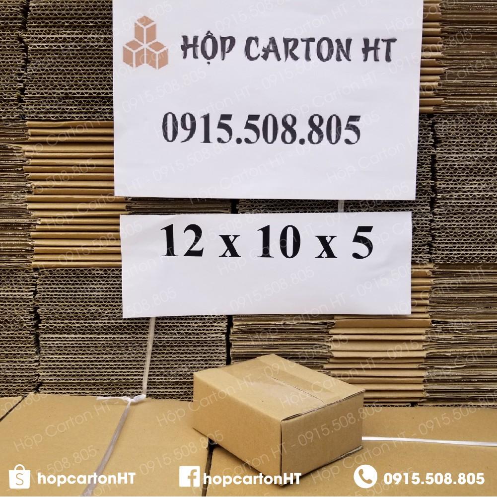 12x10x5 Hộp carton, thùng giấy cod gói hàng, hộp bìa carton đóng hàng giá rẻ