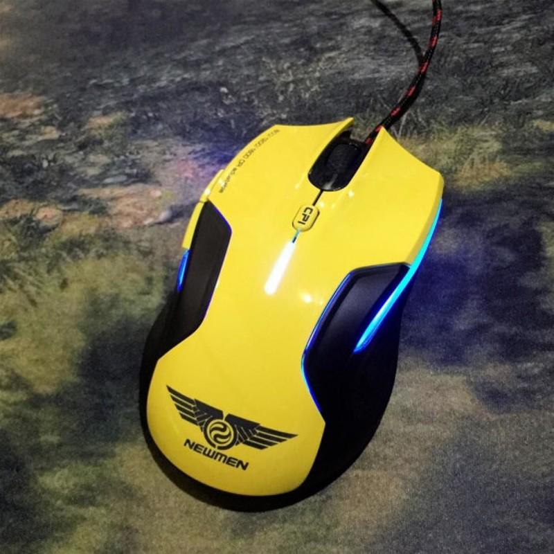 Chuột Gaming Newmen N500Plus - Chuột Chơi Game Có Led Hàng Chính Hãng