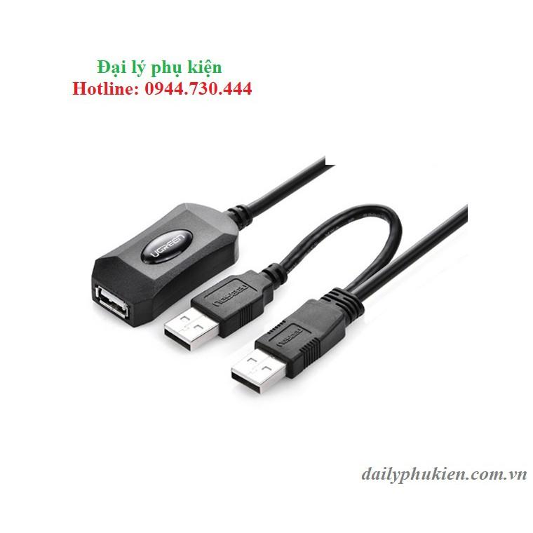 Cáp USB 2.0 nối dài 5m Ugreen 20213