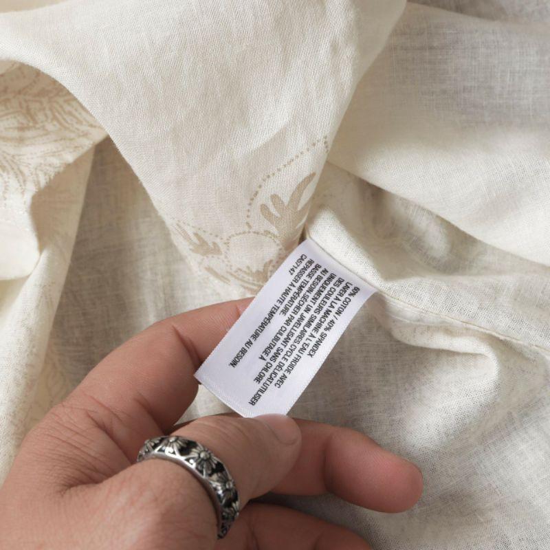 Áo sơmi tay ngắn VNXK chất Linen