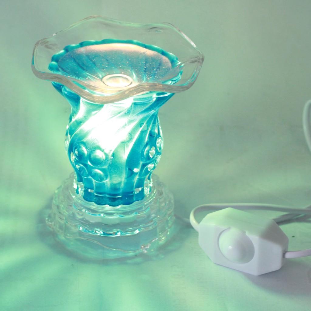 Đèn xông tinh dầu CX1204 (xanh biển)