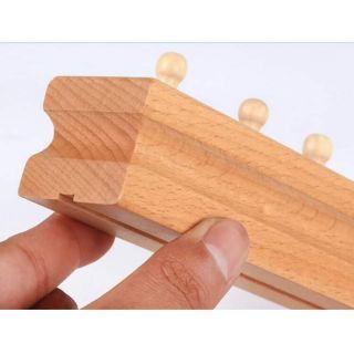 Bộ đồ chơi gỗ Peppa pig túi xanh10c
