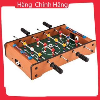 Đồ chơi bàn bi lắc bóng đá Table Top Foosball (Gỗ)_Hàng tốt