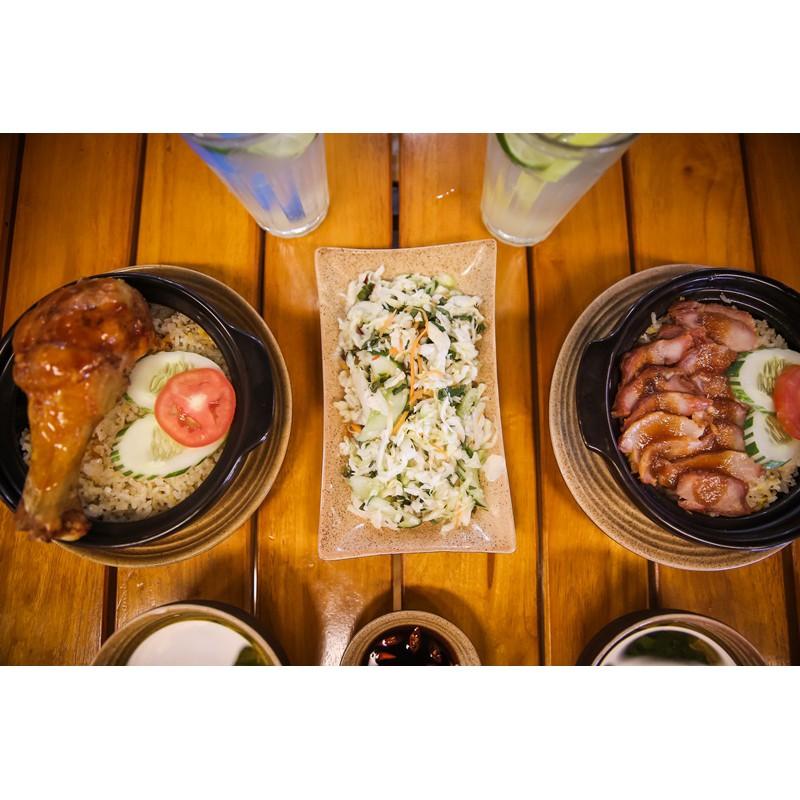 Hà Nội [Voucher] - Combo Cơm niêu siêu ngon dành cho 02 người tại 1965 Singapore Street Food Free n