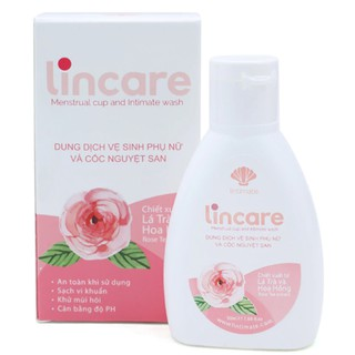Dung dịch vệ sinh phụ nữ và cốc nguyệt san Lincare Menstrual Cup And Intimate Wash 50ml thumbnail