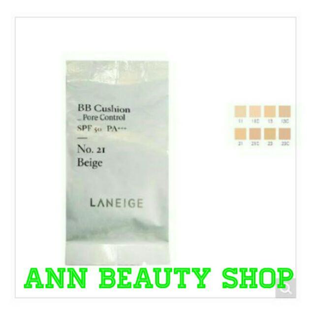 Refill BB Cushion Laneige- Pore Control ( kèm puff)