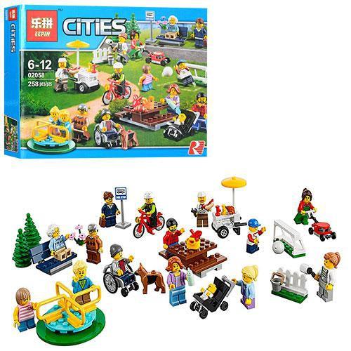 Lego xếp hình Cities 02058- 258 pcs