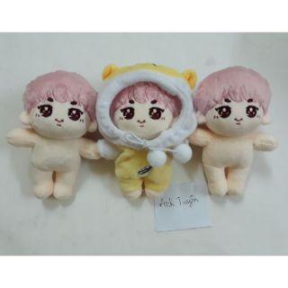 Búp bê poppet jin (có lẻ outfit) 15cm new. doll bts
