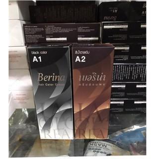Nhuộm tóc Berina A1(đen) - A2(nâu đen) thumbnail