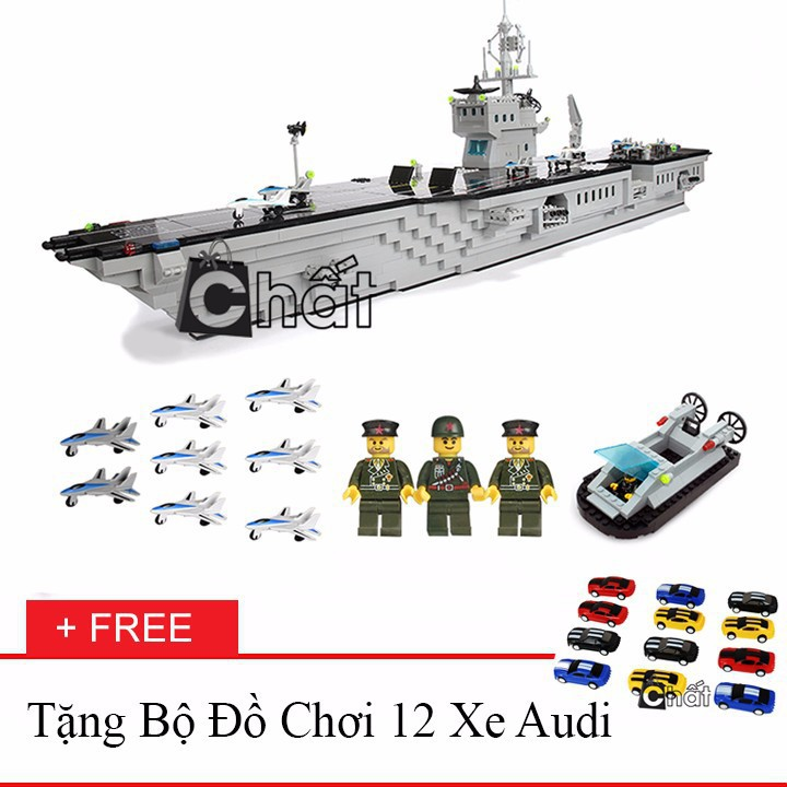 Bộ Đồ Chơi Xếp Hình Tàu Sân Bay 113 + Bộ Đồ Chơi 12 Xe Đua Audi 20022 - 2445098 , 701169146 , 322_701169146 , 847000 , Bo-Do-Choi-Xep-Hinh-Tau-San-Bay-113-Bo-Do-Choi-12-Xe-Dua-Audi-20022-322_701169146 , shopee.vn , Bộ Đồ Chơi Xếp Hình Tàu Sân Bay 113 + Bộ Đồ Chơi 12 Xe Đua Audi 20022