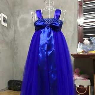 Đầm thiết kế ❤️FREESHIP❤️ Đầm thiết kế cho bé gái xanh coban