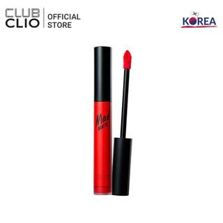 Son Nước Clio Mad Matte Liquid Lip 03 Burning Orange 5Ml