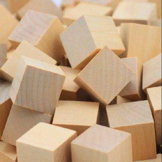 50 khối gỗ vuông 3cm thumbnail