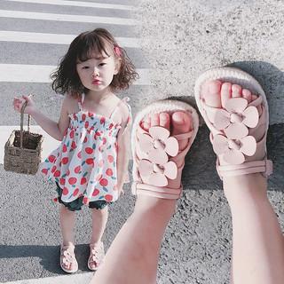 Sandal hè cho bé👣FREESHIP👣 Dép hè bé gái đế mềm
