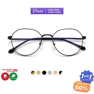 Kính mắt tròn kim loại siêu bền Elmee E2984 - dành cho cả nam và nữ thumbnail