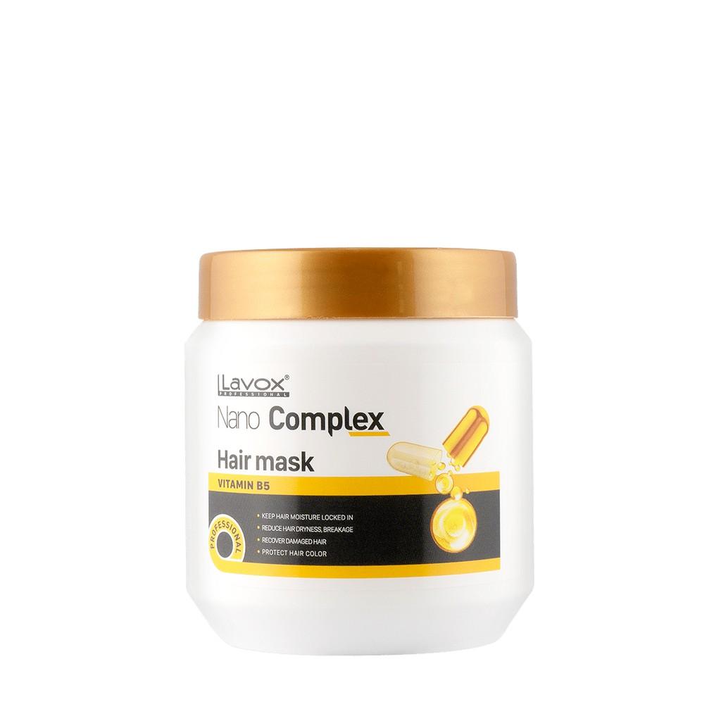 Mặt Nạ Dưỡng Tóc Lavox Nano Complex Vitamin B5 500ml