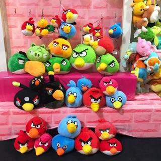 Gấu bông angry birds set 34 con