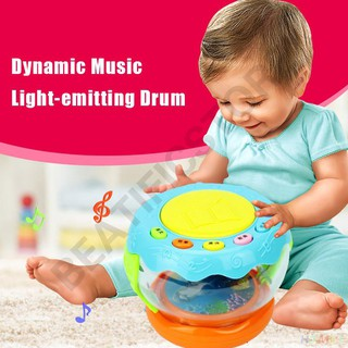 Music Light-emitting Drum Educational Toy Baby Learning Infant LED Toys