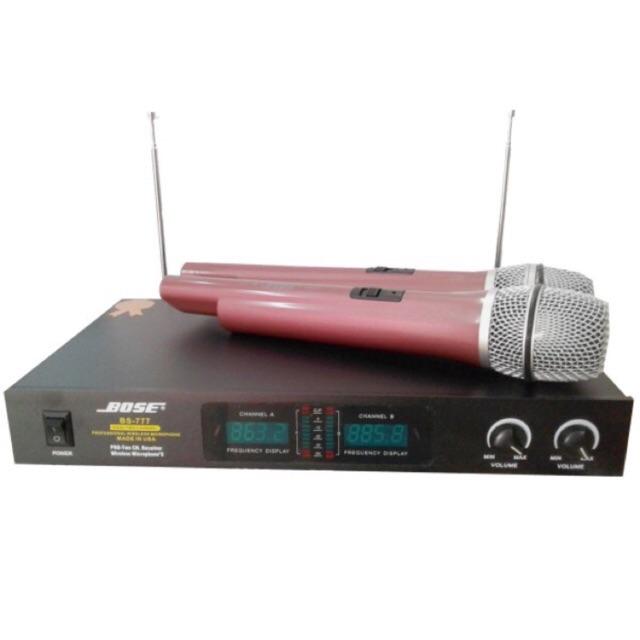 [SALE 10%] Micro karaoke không dây Bose BS-777 - 2400074 , 103751864 , 322_103751864 , 730000 , SALE-10Phan-Tram-Micro-karaoke-khong-day-Bose-BS-777-322_103751864 , shopee.vn , [SALE 10%] Micro karaoke không dây Bose BS-777