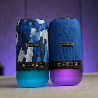 Loa Bluetooth không dây  Boombass L22, tích hợp đèn led 7 màu - Mã OACN0080