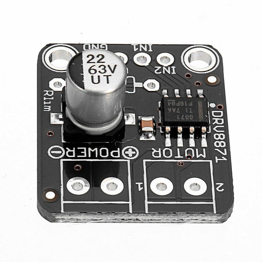 DRV8871 Power Supply For Arduino DC Motor Driver H-Bridge 3.6A PWM Control Module