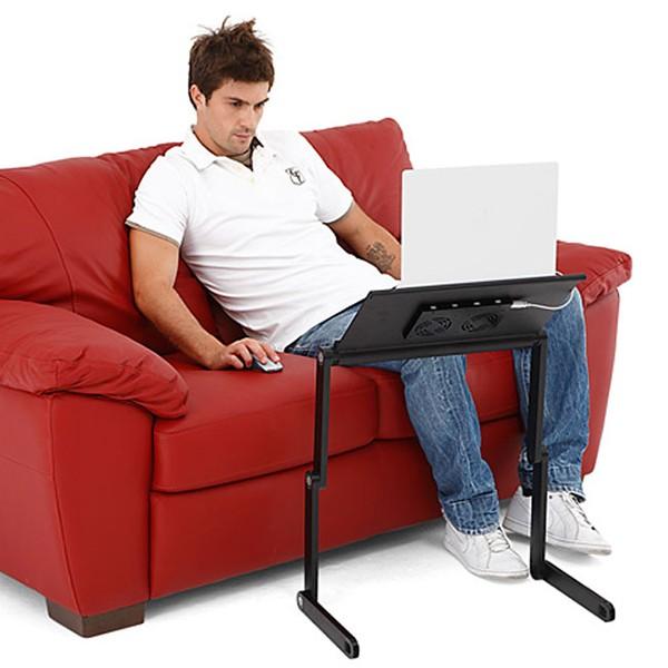 Bàn kê laptop bằng nhôm 360 độ mẫu 2016