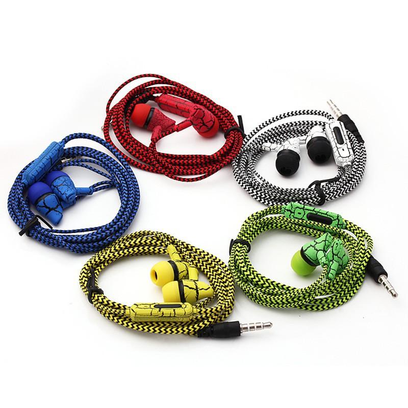 Tai nghe nhét tai chống ồn SF-A10 kiểu dây bện độc đáo tiện dụng