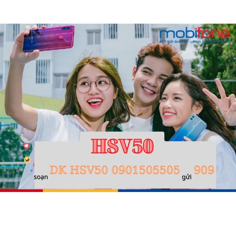 [ HSV50] SIM 4g MOBiFONE với 4gb/ngày giá chỉ 50k. Sim sử dụng năm.