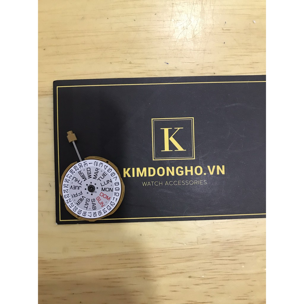 Máy Miyota GM00 3 kim Lịch 6h, Lịch 3h Cho đồng hồ đeo tay