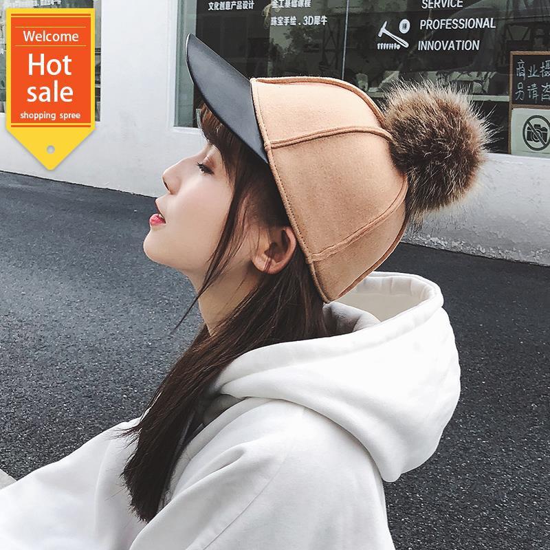 Mũ lưỡi trai có chi tiết quả bóng lông thời trang phong cách Hàn Quốc - 14754954 , 2419691071 , 322_2419691071 , 243000 , Mu-luoi-trai-co-chi-tiet-qua-bong-long-thoi-trang-phong-cach-Han-Quoc-322_2419691071 , shopee.vn , Mũ lưỡi trai có chi tiết quả bóng lông thời trang phong cách Hàn Quốc