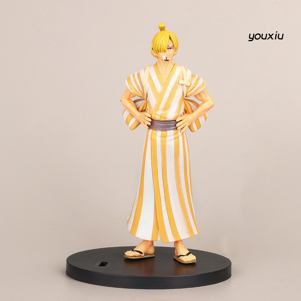 YOU-d Anime Doll Model One Piece Character Shape Collectable Miniature Toys Display Mold for Cake Decoration