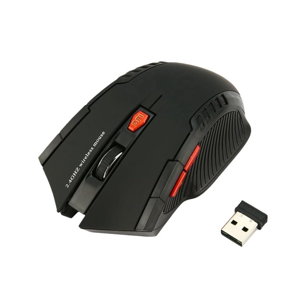 Chuột máy tính không dây USB 2.4GHz thiết kế mới cá tính