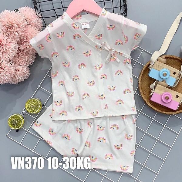 Đồ bộ dễ thương cho Bé Gái 10-30KG (2-7 tuổi) – Chất liệu Cotton mềm, mịn, mát.