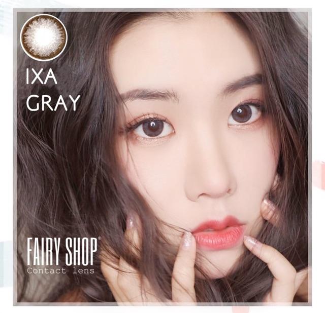 Kính Áp Tròng IXA GRAY 14.0 mm ( 0 - 6 độ) HSD 6 Tháng Lens Hàn