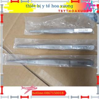 Nỉa thẳng y tế không mấu16 cm - nhíp y tế dùng trong phẩu thuật thumbnail