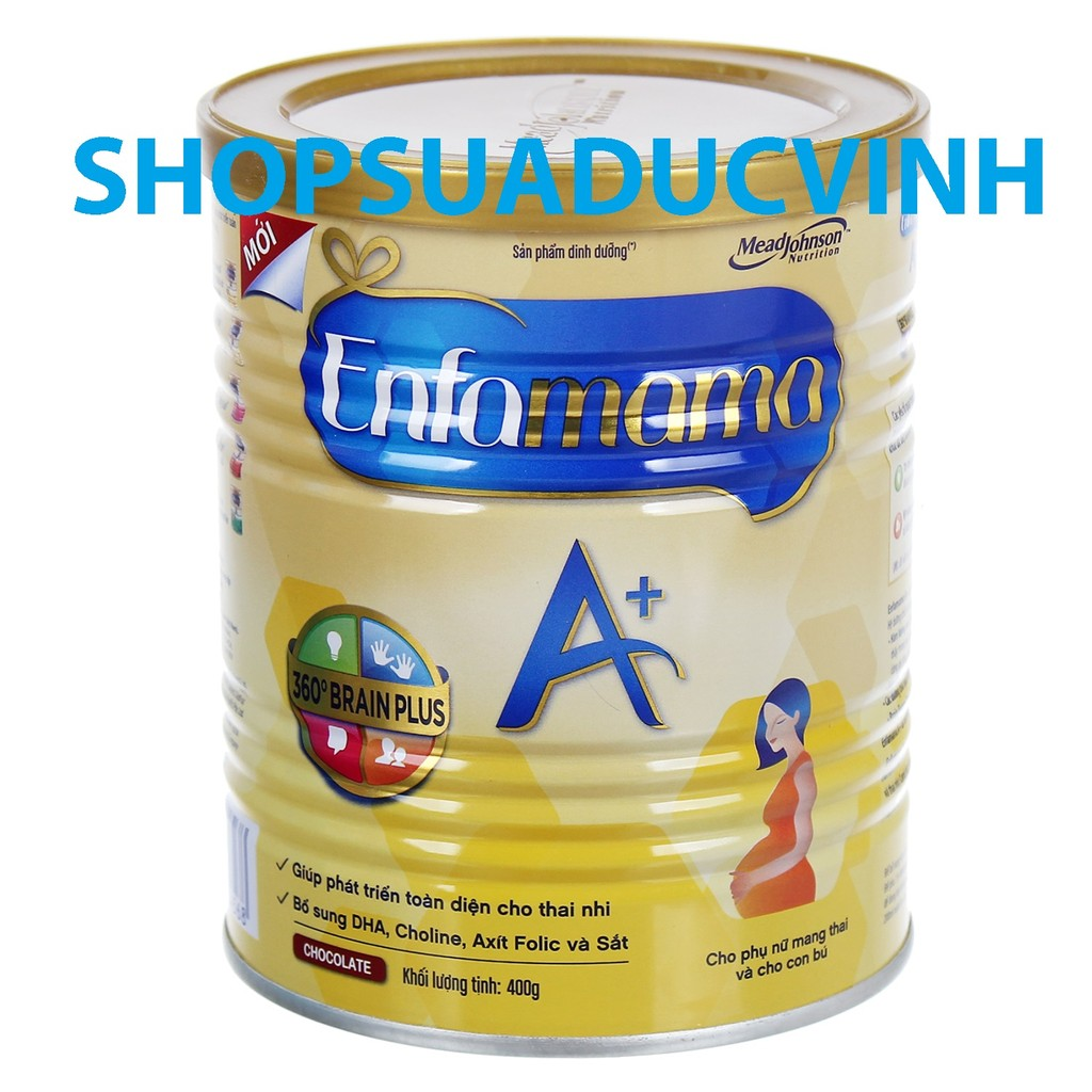 Sữa bột EnfaMama A+ hương Socola 400g - 2487088 , 164711155 , 322_164711155 , 230000 , Sua-bot-EnfaMama-A-huong-Socola-400g-322_164711155 , shopee.vn , Sữa bột EnfaMama A+ hương Socola 400g