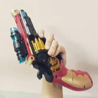 [Tặng PIN] Đồ chơi súng phát sáng trẻ em an toàn