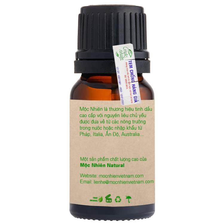 Tinh dầu Mộc Nhiên, tinh dầu thiên nhiên, hàng nguyên chất chính hãng có tem chống hàng giả - Chai 10ml