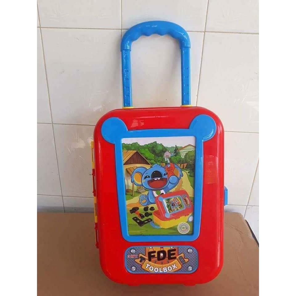 Bộ dụng cụ Enfa kết hợp vali kéo cho bé trai
