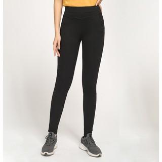 Quần Legging Vicci dáng dài 4 túi vải đen và vải vân xước thumbnail